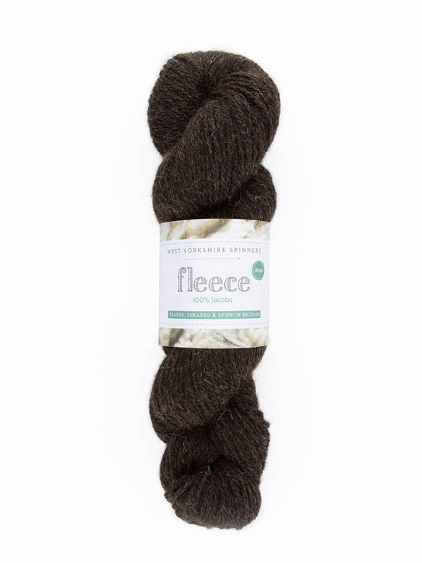 WYS Jacobs Aran 007 Black/Brown